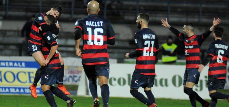 Il girone d'andata del Cosenza nella stagione 2018-2019
