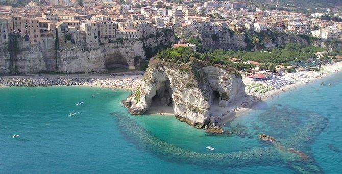 TripAdvisor inserisce Tropea tra le spiagge top d'Italia