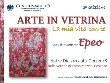 A Cosenza torna la mostra Arte in vetrina