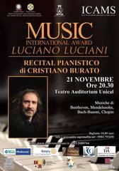 Prosegue a Rende il VII International Music Award Luciano Luciani