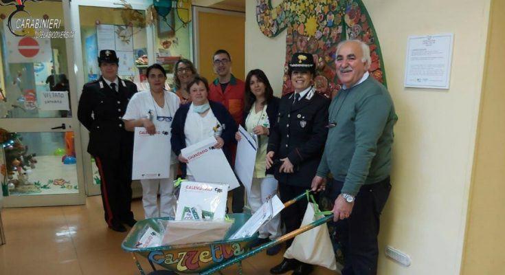 Epifania negli ospedali pediatrici con i Carabinieri Forestali