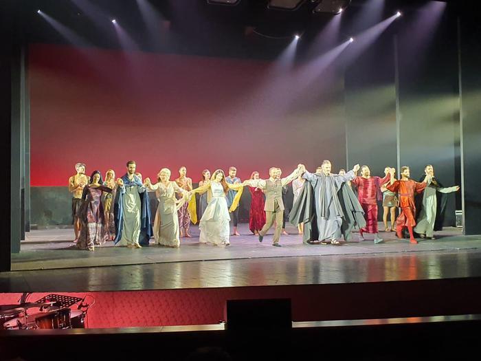 Al Politeama di Catanzaro grande successo per La Divina commedia