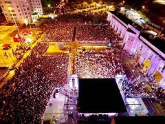 Oltre 50.000 presenti per piazza dei miracoli al Metropolis di Rende