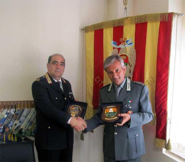 Catanzaro: il comandante della Polizia provinciale in visita al Comando di Polizia municipale
