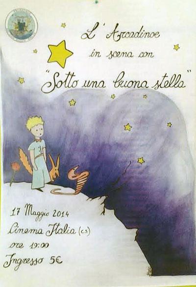 Sotto una Buona Stella: l'Arcadino� in scena con uno spettacolo tratta da Il Piccolo Principe