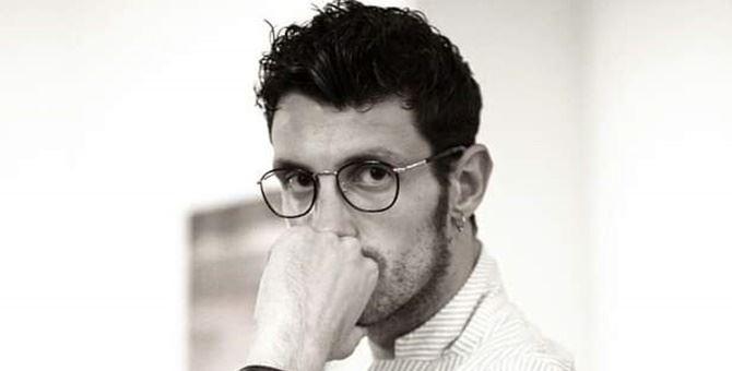 Lo stilista calabrese Mario Costantino Triolo alla Milano Fashion Week