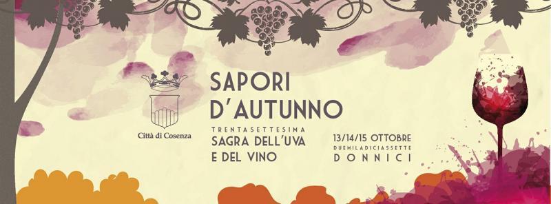 Donnici: per la sagra del vino Sapori d'autunno edizione speciale di Cinque sensi di marcia