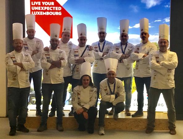 Nove medaglie per la Calabria nella Coppa del mondo di Cucina 2018