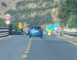 Autostrada A3: chiusure notturne tra Altilia Grimaldi- Falerna dal 10 al 13