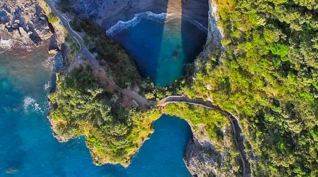 L'Arco Magno, la spiaggia pi� bella di Calabria