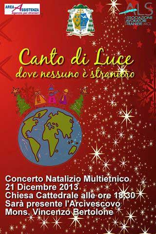 Canto di Luce, dove nessuno � straniero: concerto di Natale multietnico in Cattedrale