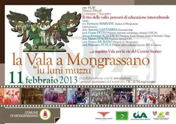 Carnevale: la Vala a Mongrassano