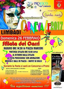 Limbadi (VV), Carnevale 2017