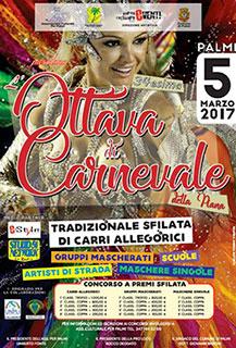 Palmi (RC), 34 edizione dell'ottava di Carnevale