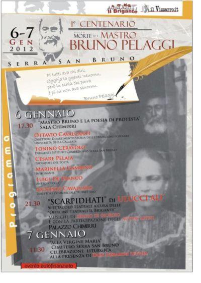 Serra San Bruno: convegni e spettacoli per ricordare il poeta calabrese Mastro Bruno Pelaggi