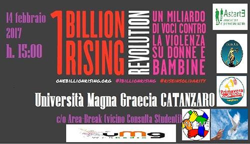 Catanzaro, 1 billion rising revolution