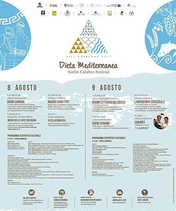 Terza edizione del Festival della dieta mediterranea ad Aiello Calabro