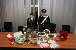 Rende: carabinieri scoprono labotatorio per la coltivazione ed il confezionamento di sostanza stupefacenti.