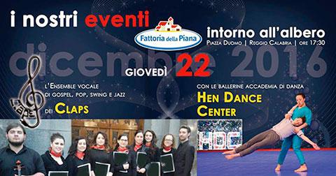 Reggio Calabria, l'Ensemble dei CLAPS con le ballerine accademia di danza HEN DANCE CENTER riceveranno un riconoscimento del Comune