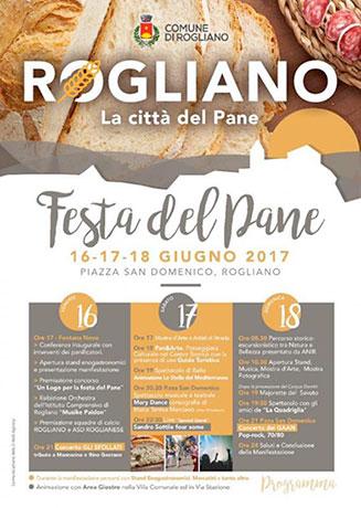 Rogliano (CS), la prima edizione della festa del pane