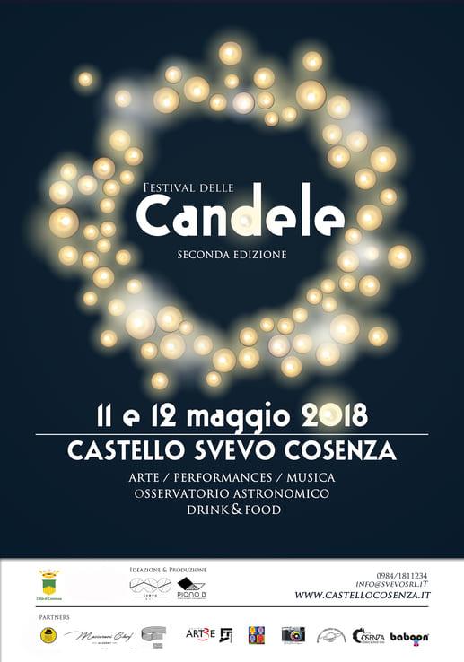 Al Castello Svevo di Cosenza torna il Festival delle Candele