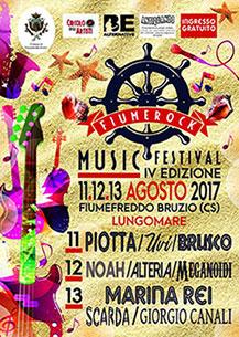 Arriva la IV edizione del Fiume Rock Music Festival 2017