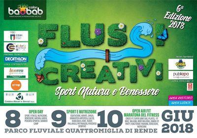 Al via a Rende l'evento Flussi Creativi, Festival dello Sport e del Benessere