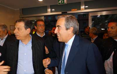 L'onorevole Maurizio Gasparri a Rossano: Faremo di tutto per riaprire il Tribunale