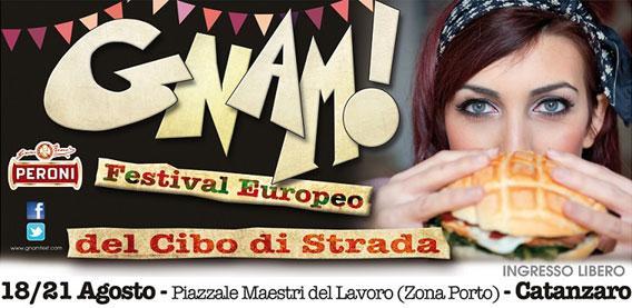 GNAM! Festival europeo del cibo di strada arriva in Calabria