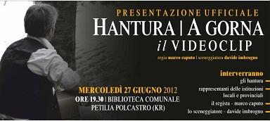 Crotone: Marco Caputo e Davide Imbrogno per il video A gorna degli Hantura