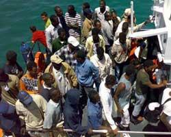 Isola Capo Rizzuto (Kr): nuovo sbarco di immigrati