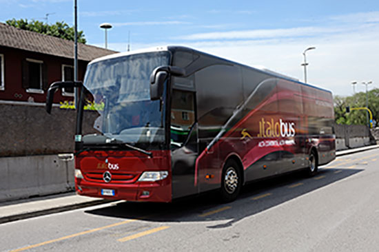Cosenza, arriva Italo bus