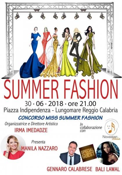 Reggio Calabria: tutto pronto per la prima edizione di Summer Fashion sul lungomare Falcomat�