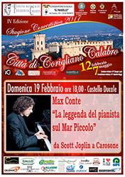 Corigliano (CS), IV edizione della stagione concertistica