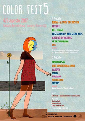 Quinta edizione del Color Fest 2017 a Lamezia