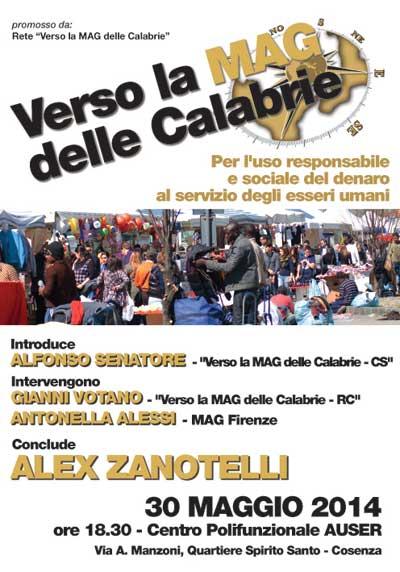 Alex Zanotelli a Cosenza per le MAG della Calabria