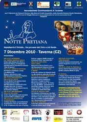 Taverna: Notte Pretiana il 7 dicembre 2010