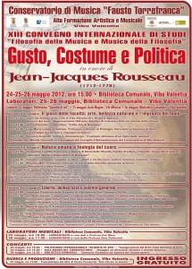 Vibo Valentia: dal 24 al 26 maggio tre giorni di filosofia e musica al Conservatorio Fausto Torrefranca