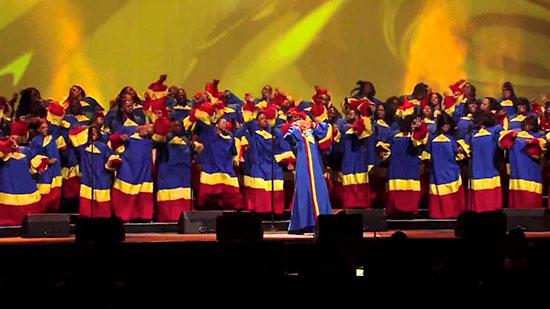 Palmi (RC), maxi concerto Gospel
