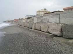 Bova Marina: sigilli ad area demaniale marittima