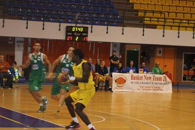 Crotone basket: Prima vittoria per la New Team Crotone che batte 82 a 75 la Kama Siracusa