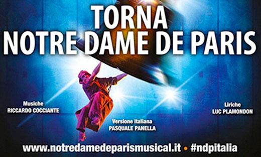 Reggio Calabria, teatro Palacalafiore ritorna Notre Dame de Paris
