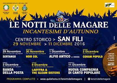 San Filli (CS), Le notti delle Magare - Incantesimi d'autunno