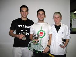 squash premiazione a roma