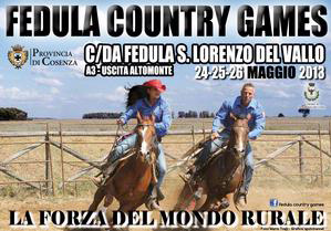 Week end con i Fedula Country Games, serie di eventi dedicati al mondo rurale - Sibari - Pollino