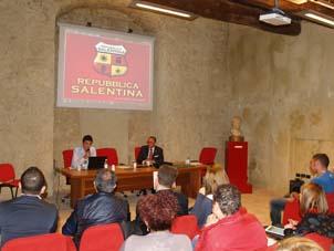 Studenti leccesi in trasferta a Vibo Valentia per presentare la Repubblica salentina