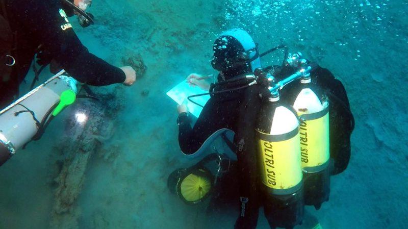 Reggio Calabria: straordinari reperti in fondo al mare