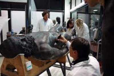 Scopelliti e il ministro Barca hanno effettuato un sopralluogo al Museo Nazionale di Reggio