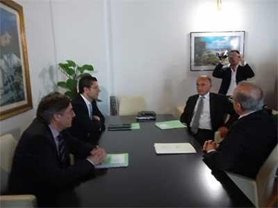 Scopelliti ha incontrato il rettore Quattrone per discutere della fondazione Campanella