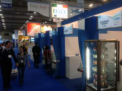 La Regione al Seafood Global Expo di Bruxelles
